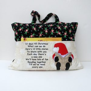 12 Days of Christmas Reading Pillow