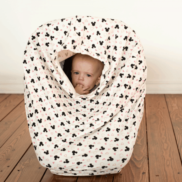 Stretchy Car Seat Cover-Mouse Head