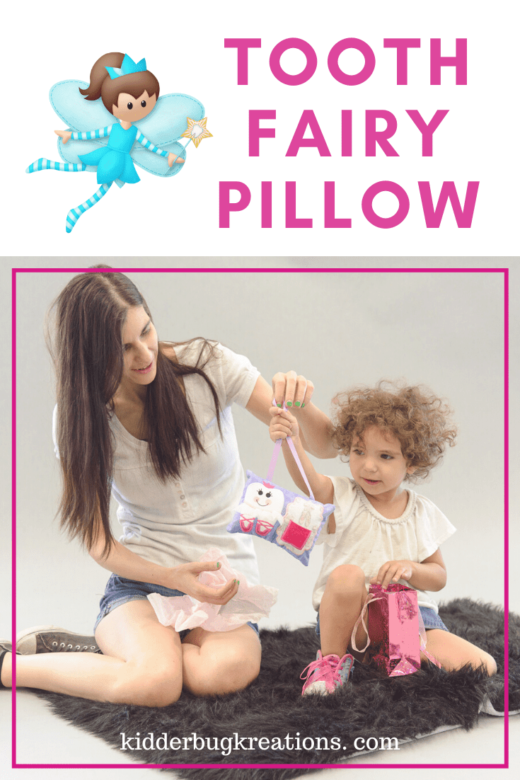 Ballerina Tooth Fairy Pillow