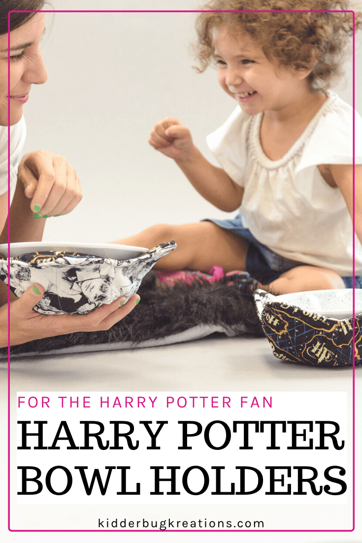 Harry Potter Fabric Microwavable Bowl Holder