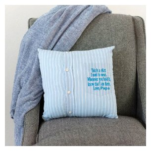 Kidderug Kreations memoiral remembrance pillow