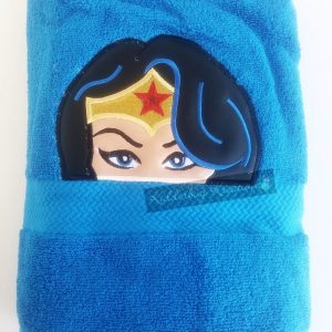 Amazing woman towel