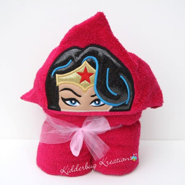 Amazing Woman Hooded Towel