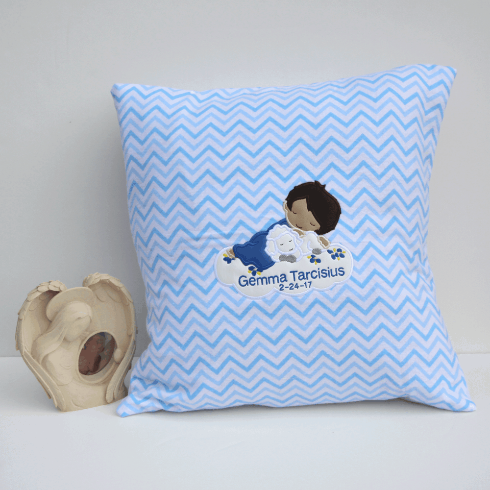Angel Boy on a Cloud Baby Loss Memorial Gift