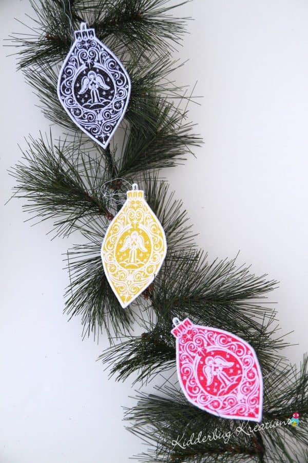 Angel Lace Ornament