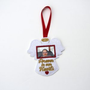 Angel Photo Holder Memorial Ornament