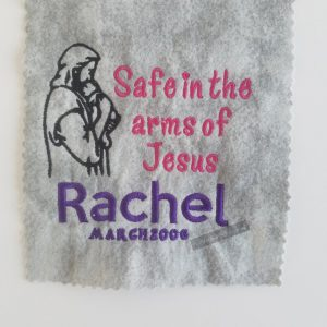 Safe in the Arms of Jesus Memorial Gift