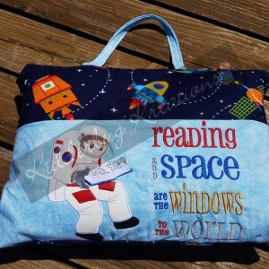 Astronaut Reading Pillow
