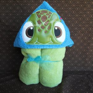 Baby Turtle Hooded Towel
