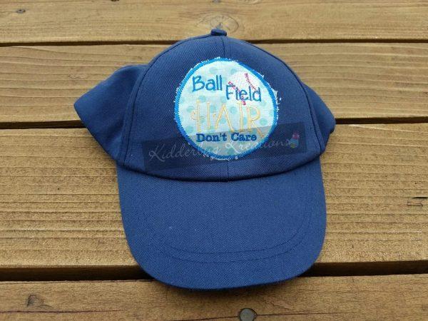 hat-ball field hair