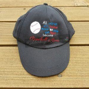 hat-baseball mom