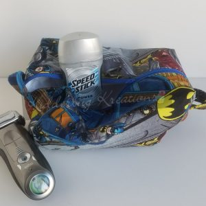Batman fabric Dopp bag