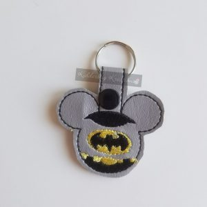 Bat Mouse Keychain