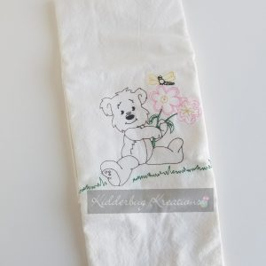 Bear Coloring Dishtowel