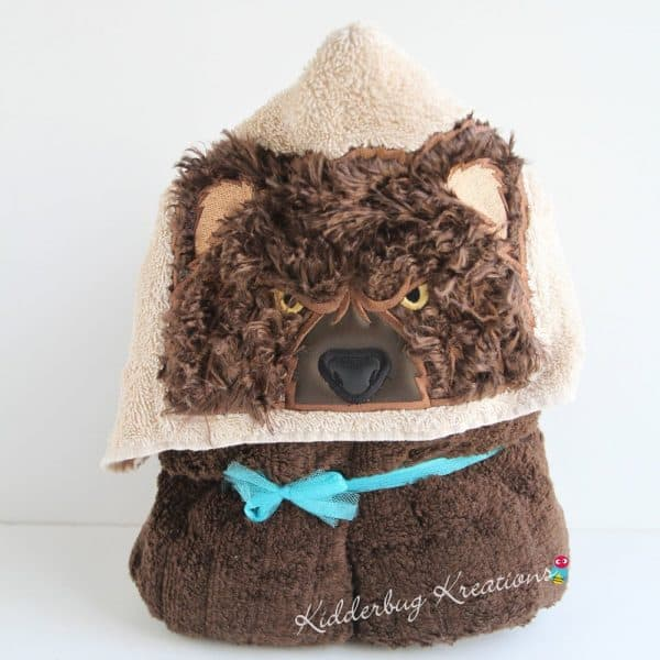 Bear Hooded Towel