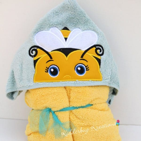 Bumblebee Hooded Towel