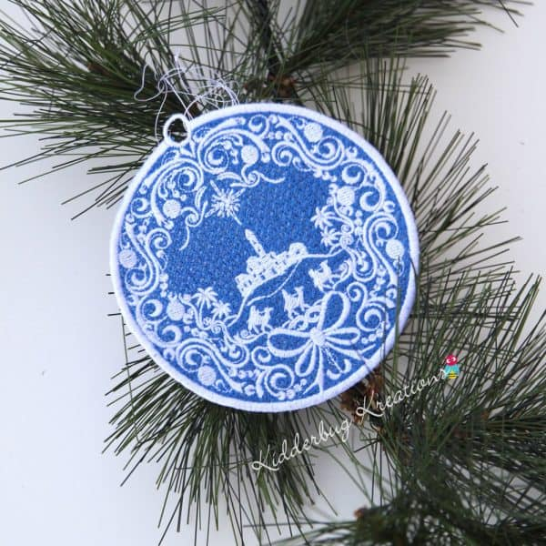 Bethlehem Lace Ornament