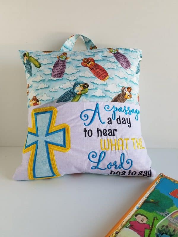 """Passage a Day"" Bible Reading Pillow"