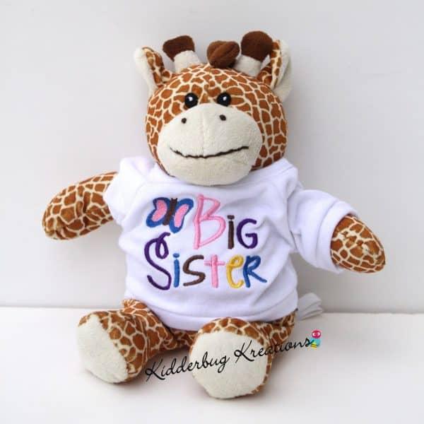 Big Sister Stuffed Animal