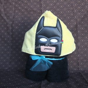 Block Bat Boy Hooded Towel