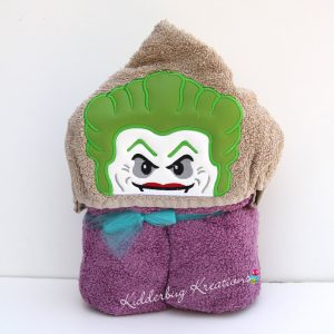 Block Joker Hooded Towel