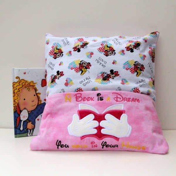 """A Book Is a Dream"" Reading Pillow"