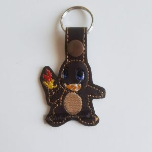 Brown Poke Keychain