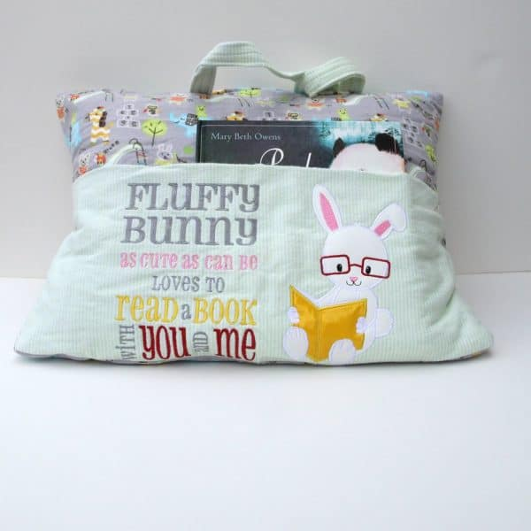 Bunny Reading Pillow