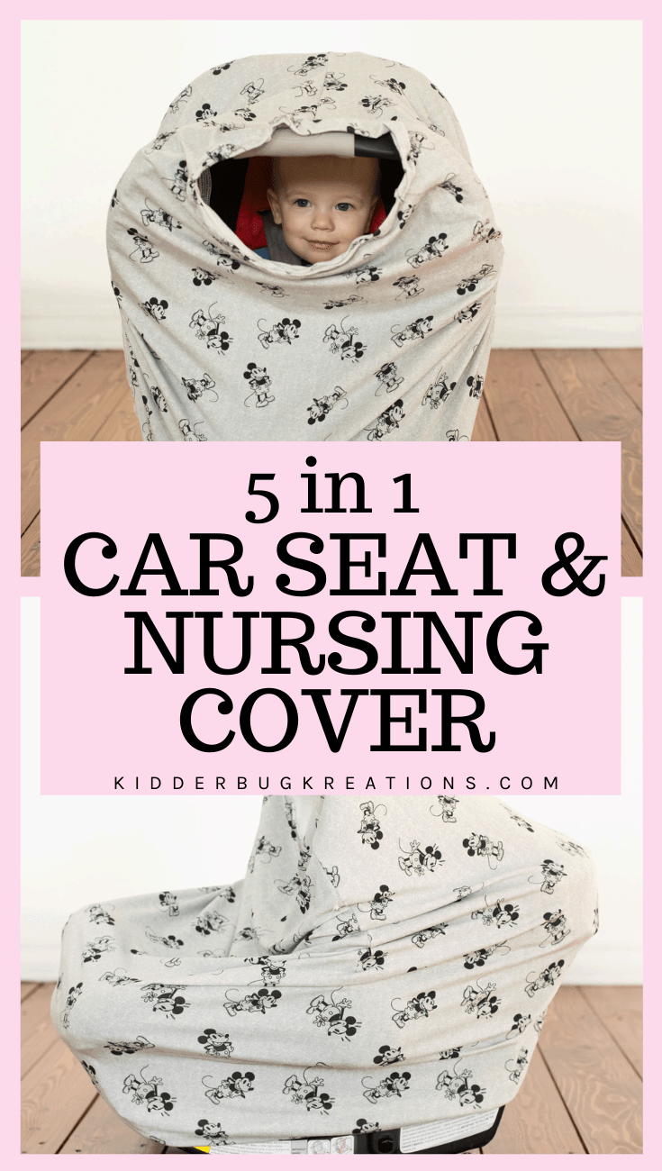 Mickey Mouse Stretchy Car Seat Cover
