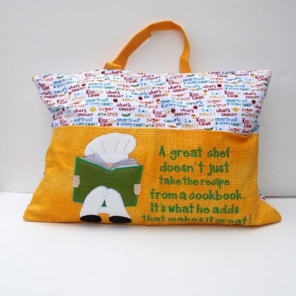Chef Reading Pillow