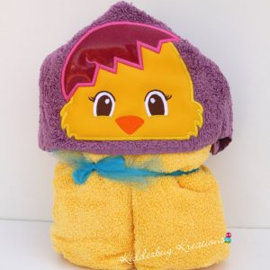 Chick Hooded Towel