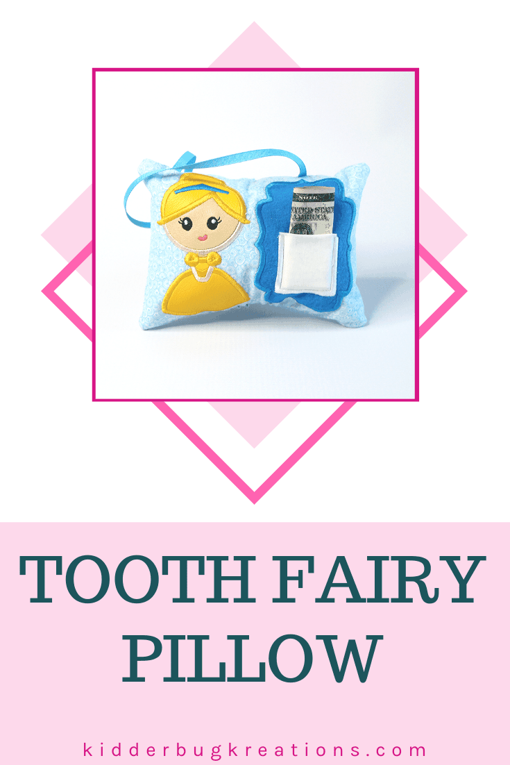 Princess Tooth Fairy Pillow