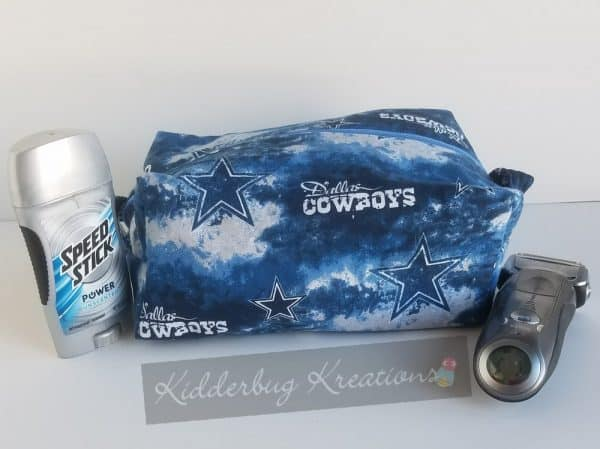 Cowboys dopp bag