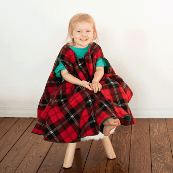 Made to Order Car Seat Fleece Poncho