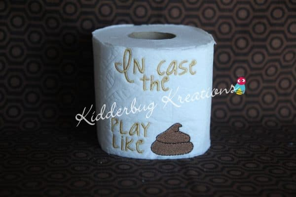Customized Sports Toilet Paper