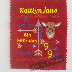 Deer birth stats announcement