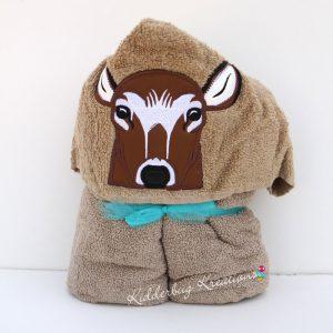 Deer Hooded Towel