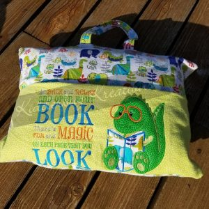 Dinosaur Reading Pillow