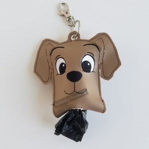 Dog hand sanitizer case