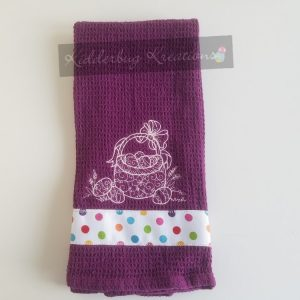 Easter Basket Dishtowel