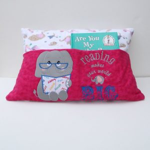 Elephant's Big World Reading Pillow