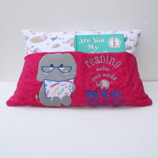 Elephant's Big World Reading Pillow