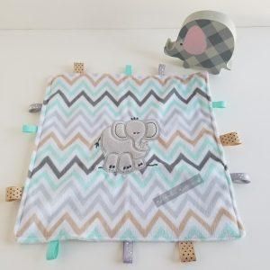 Elephant Sensory Blanket