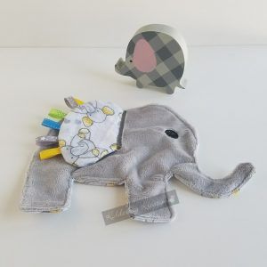 Elephant Shaped Sensory Blanket