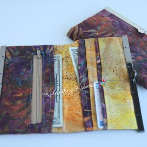 Fall colored wallet