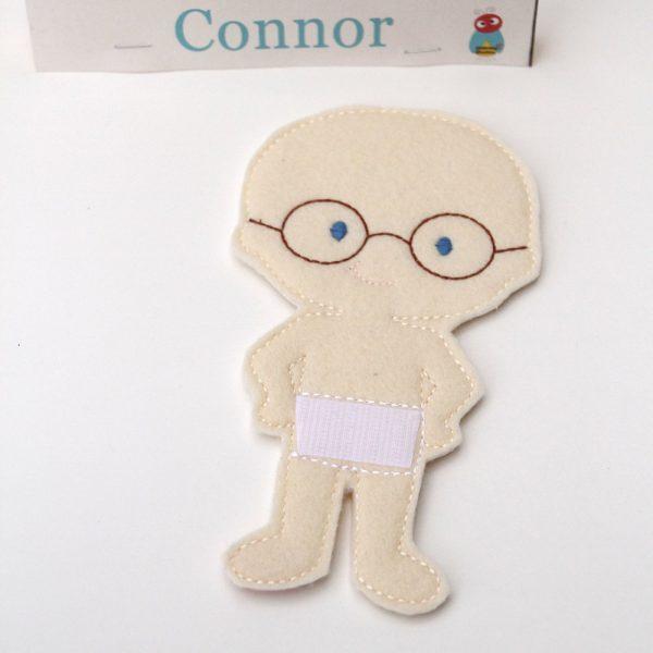Connor non paper doll
