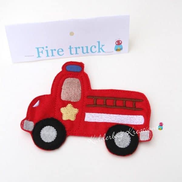 Firetruck non paper doll