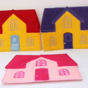 Non paper doll house