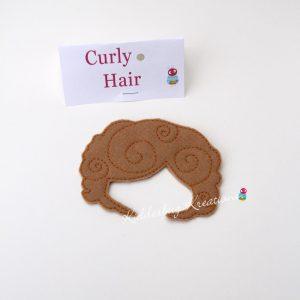 Non paper doll hair