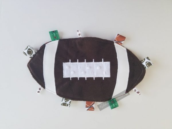 Football Shaped Sensory Blanket
